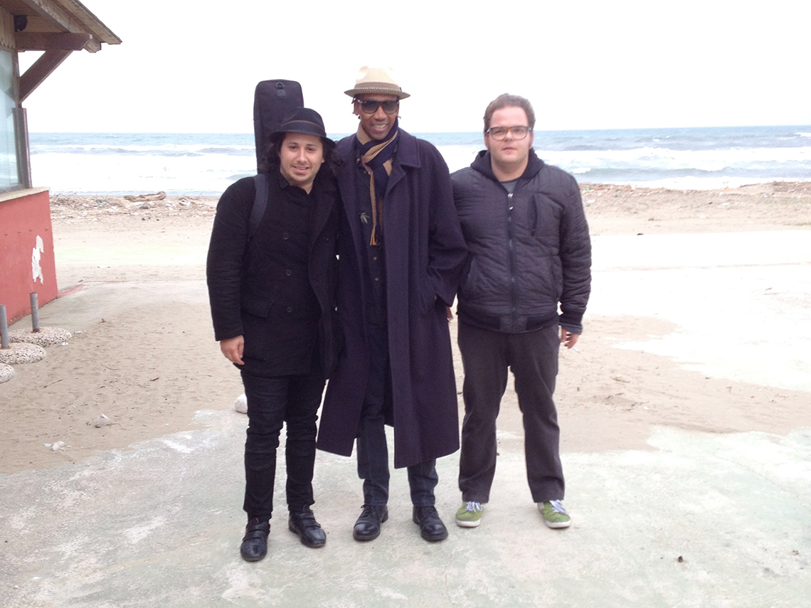 2016 Alphonso Johnson Tour in Italy with Frank and Archelao.